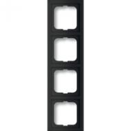 1754-0-4422(1724-885K) BJE Future Linear Черный бархат Рамка 4-ая