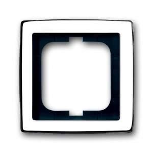 1754-0-4538 (1754-0-4326) BJE Solo Глянцевый Хром Рамка 1-ая