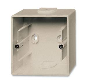 1799-0-0962 (1701-93) BJB Basic 55 Шамп Коробка для открытого монтажа, 1-постовая