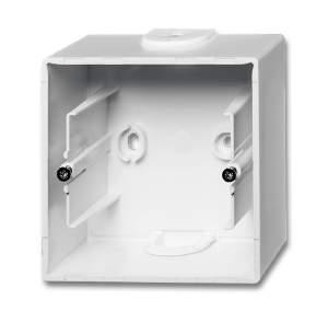 1799-0-0974 (1701-94) BJB Basic 55 Бел Коробка для открытого монтажа, 1-постовая