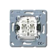 EP401U/1KO EcoProfi Беж Выключатель 1-клавишный с подсветкой ( в сборе, без рамки)