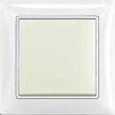 B 2006/1 UC-96-507 BJB Basic 55 DIY Шале (бел) Выключатель 1-клавишный