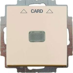 B 2006/1 UCGL-92 BJB Basic 55 DIY Беж Выключатель 1-клавишный с подсветкой