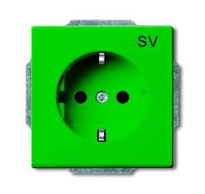 2011-0-3722 (20 EUC-13-82) BJE Solo/Future Ярко-Зелёный Розетка с/з для выделенных цепей
