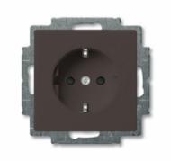 2011-0-6142 (20 EUC-95) BJB Basic 55 Шато (чёрн) Розетка с/з