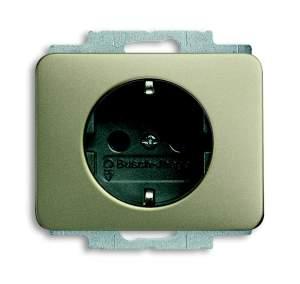 2013-0-5253 (20 EUCKS-266) BJE Alpha Nea/Exl Титан Розетка с/з с защитными шторками
