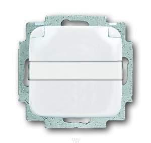 2018-0-0885 (20 EUKN-214) BJE Reflex Розетка с/з с крышкой, с шильдиком