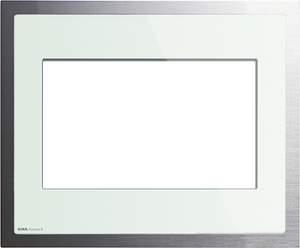 208018 Рамка KNX/EIB салатовое стекло/алюминий