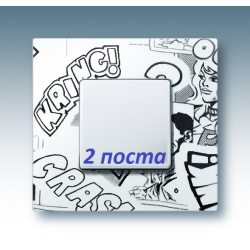 2700627-800 27 Play Комиксы Рамка-декор 2 поста, Play