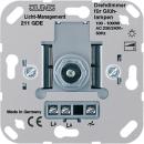211GDE Мех Светорегулятор поворотно-нажимной 100-1000 Вт для л/н