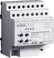 215200 Уст-во управ жал-и  2-кан, 230В AC KNX/EIB REG