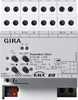 217200 Универсальный диммер 2х 300 W KNX/EIB REG
