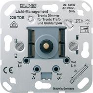 225TDE Мех Светорегулятор поворотно-нажимной 20-525 Вт для л/н и электронных трансформаторов