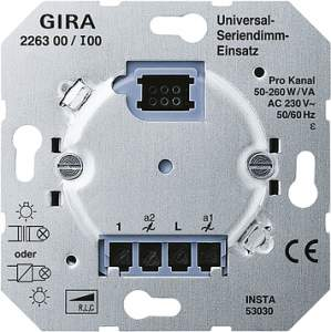 226300 Универсальный светорегулятор двухканальный