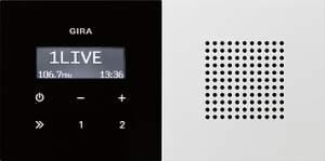 2280112 Радиоприемник скрытого монтажа с функцией RDS