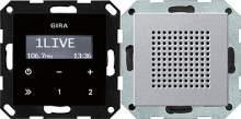 228026 Радиоприемник скрытого монтажа с функцией RDS