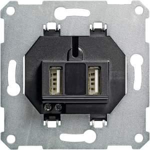 235900 Разъем USB для питания 2 местный