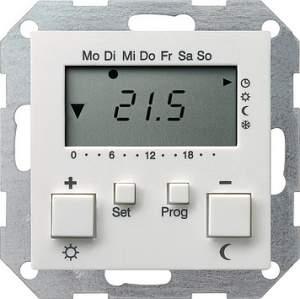 237003 Термостат 230V с таймером  и функцией охлаждения