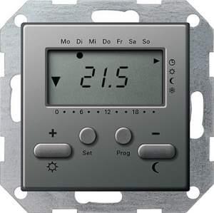 237020 Термостат 230V с таймером  и функцией охлаждения