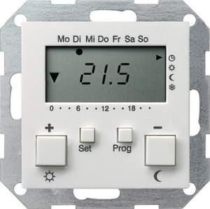 237027 Термостат 230V с таймером  и функцией охлаждения