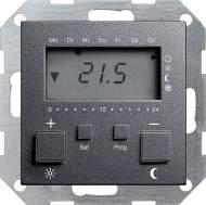 237028 Термостат 230V с таймером  и функцией охлаждения
