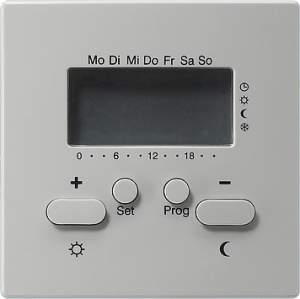 237042 Термостат 230V с таймером  и функцией охлаждения