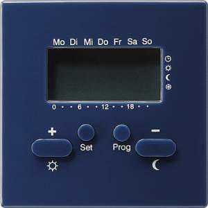 237046 Термостат 230V с таймером  и функцией охлаждения