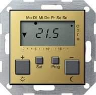 2370604 Термостат 230V с часами и функцией охлаждения