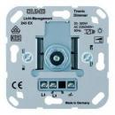 243EX Мех Светорегулятор поворотно-нажимной 20-360 Вт для л/н,и электрон трансформаторов