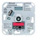244HEX Мех Светорегулятор поворотно-нажимной 20-500 Вт/ВАдля л/н,и обмоточных трансформаторов