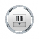 26002089 USB-розетка для подзарядки 230 V, R.Classic, цвет: полярная белезна (123,96)