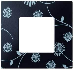 2700617-802 27 Play Черное & Белое Рамка-декор 1 пост, Play