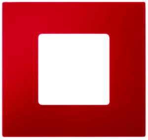2700637-037 27 Play Красный Рамка-декор 3 поста, Play