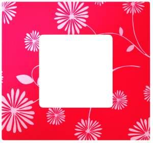 2700617-803 27 Play Красное & Белое Рамка-декор 1 пост, Play
