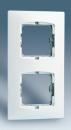 27620-62 27 Слоновая кость Рамка с суппортом на 2 шир. или 4 уз.модуля, б/лапок, 227х85мм