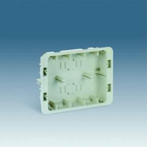 27856-61 27 Коробка для внутреннего монтажа 2-рядной рамки с суппортами, 236х171х50,5мм
