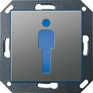 """279220 Светодиодный указатель с пиктограммой """"туалет"""""""
