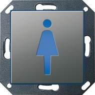 """279320 Светодиодный указатель с пиктограммой """"туалет"""""""