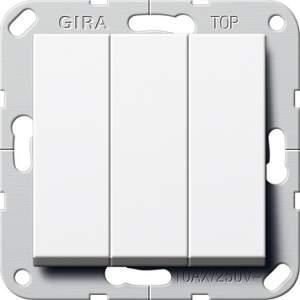 283203 Клав выключатель Перекл. 3-клавишный