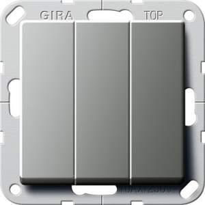 283220 Клав выключатель Перекл. 3-клавишный