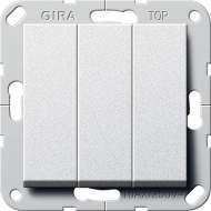 283226 Клав выключатель Перекл. 3-клавишный