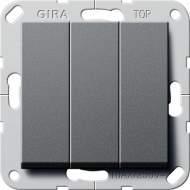 283228 Клав выключатель Перекл. 3-клавишный