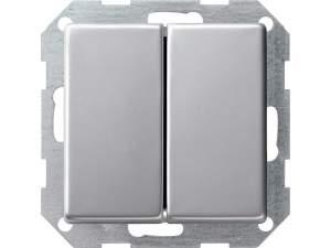 2860203 Двухклавишный выключатель с самовозвратом 10А 250В, вертикальный