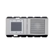 Berker 28807004 FM Радиоприёмник встроенный для серии K.1/K.5, Цвет: лакированный алюминий серия  купить в Москве, цена в России