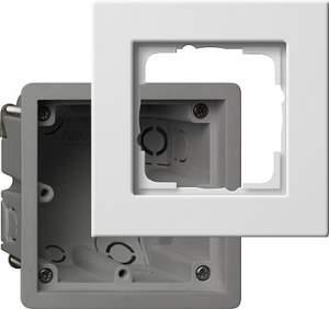 2881201 Монтажная коробка Е22 с рамкой