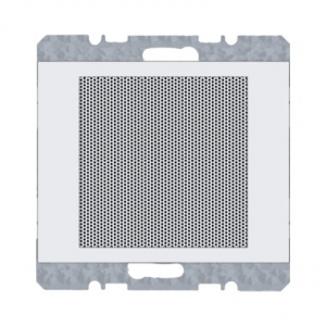 Berker 28827009 Динамик для FM Радиоприемника встроенный для серии K.1/K.5, Цвет: полярная белезна серия  купить в Москве, цена