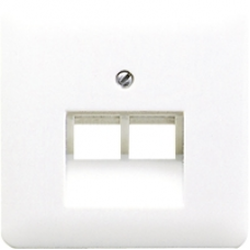 CD569-2UABR CD 500/CD plusКоричневый Накладка 2-ой наклонной ТЛФ/комп розетки