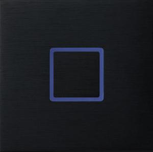 Tacto лицевая панель, закрытая, черный арт.111-03