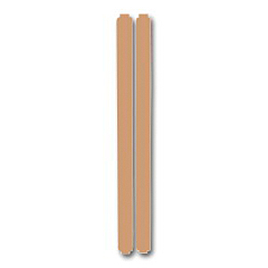 34901-32 34 Коричневый Вставки декоративные (2 шт. в комплекте)