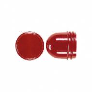 37.05 Мех Колпачек плоский для ламп до 35 мм красный